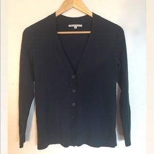 GAP Navy Blue Cardigan, Size XS Petite
